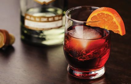 Negroni, men say ngày hè